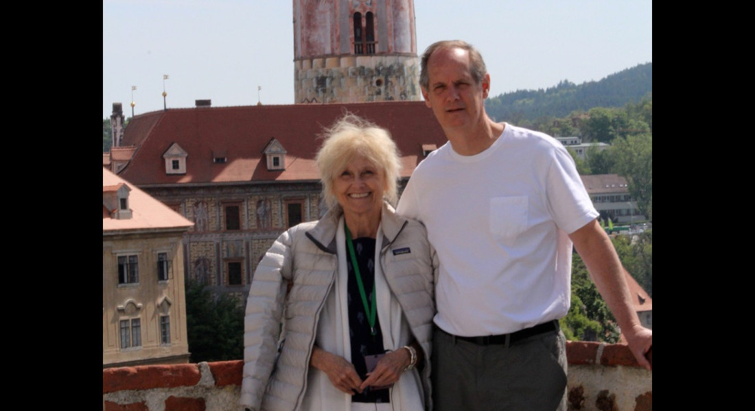 Lynn and Tom Tolleson in Turkey with Langham Fellowship